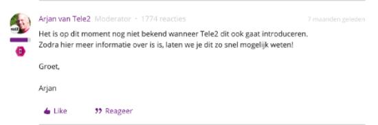 Tele2 verklaring over eSIM