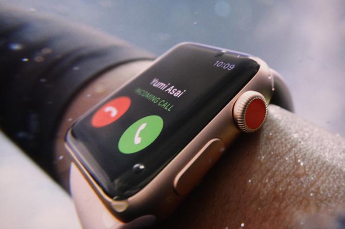 Zelfstandig bellen zonder iPhone kan in de toekomst via de ingebouwde simkaart.